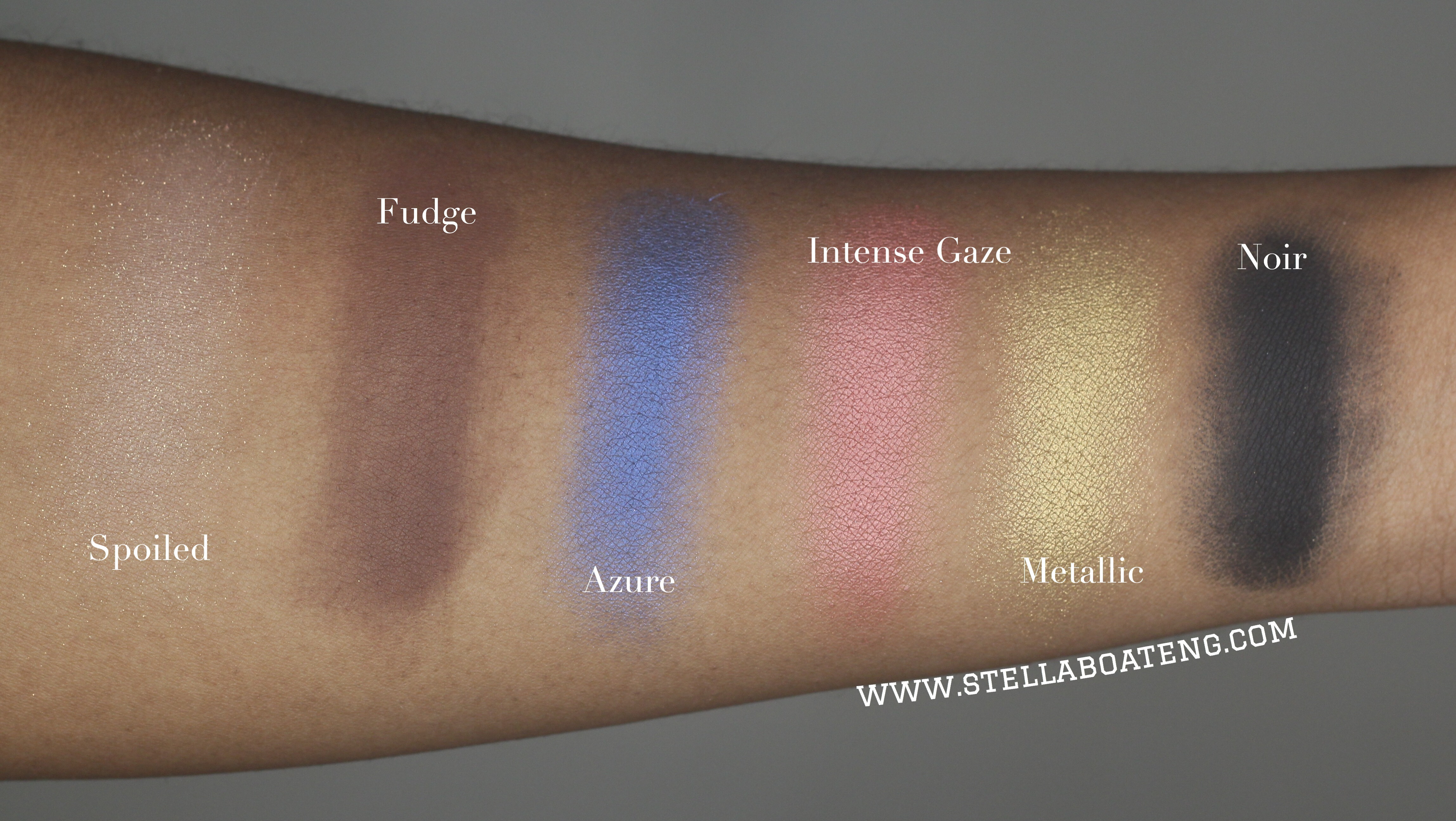 ABH Shadow Couture Swatches 2
